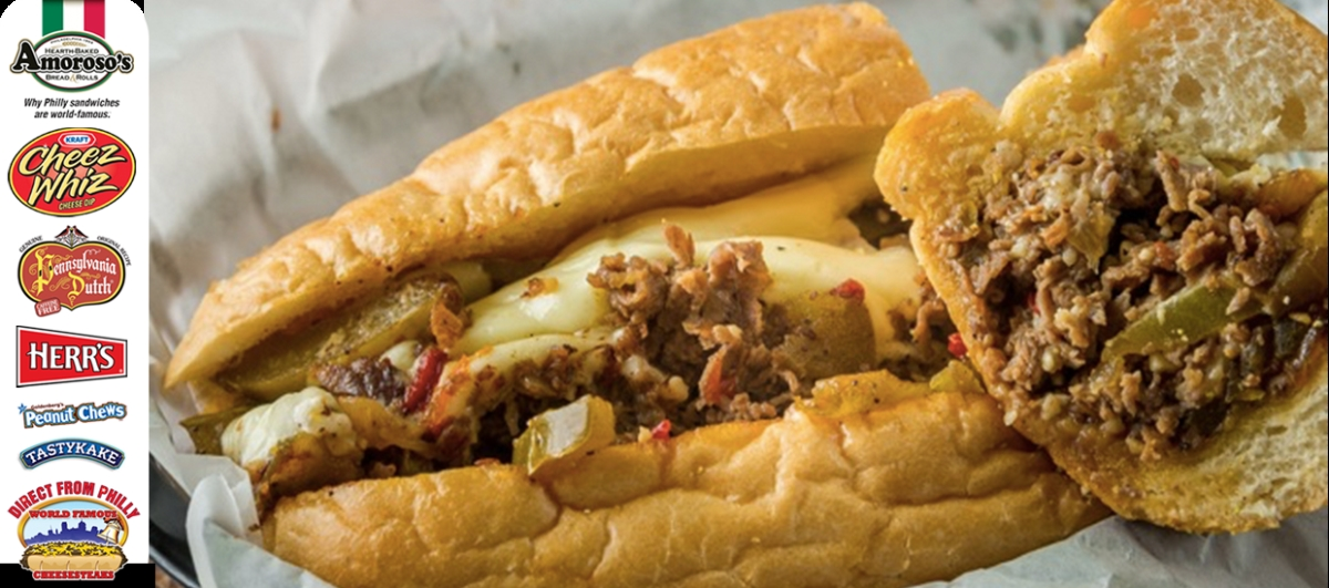 Direct From Philly Authentic Cheesesteak & Snacks from Philidelphia